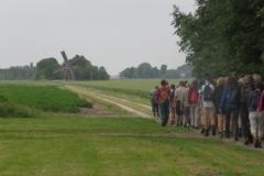 Hinke Kalsbeek   Vlak na de start 2