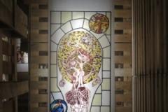 Kunst in het doolhofje