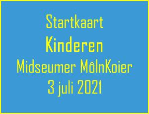 startkaart kinderen 2021