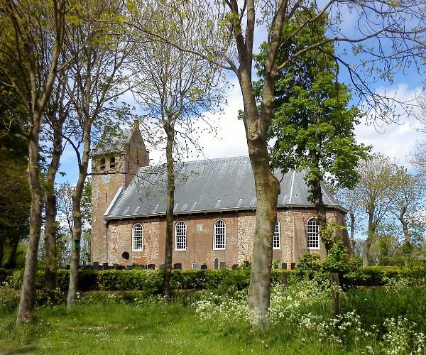 Kerk Westernijtsjerk foto van Marrum Online