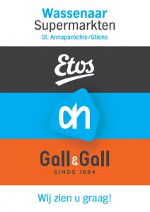 Sponsor langs de route AH Wassenaar St. Annaparochie